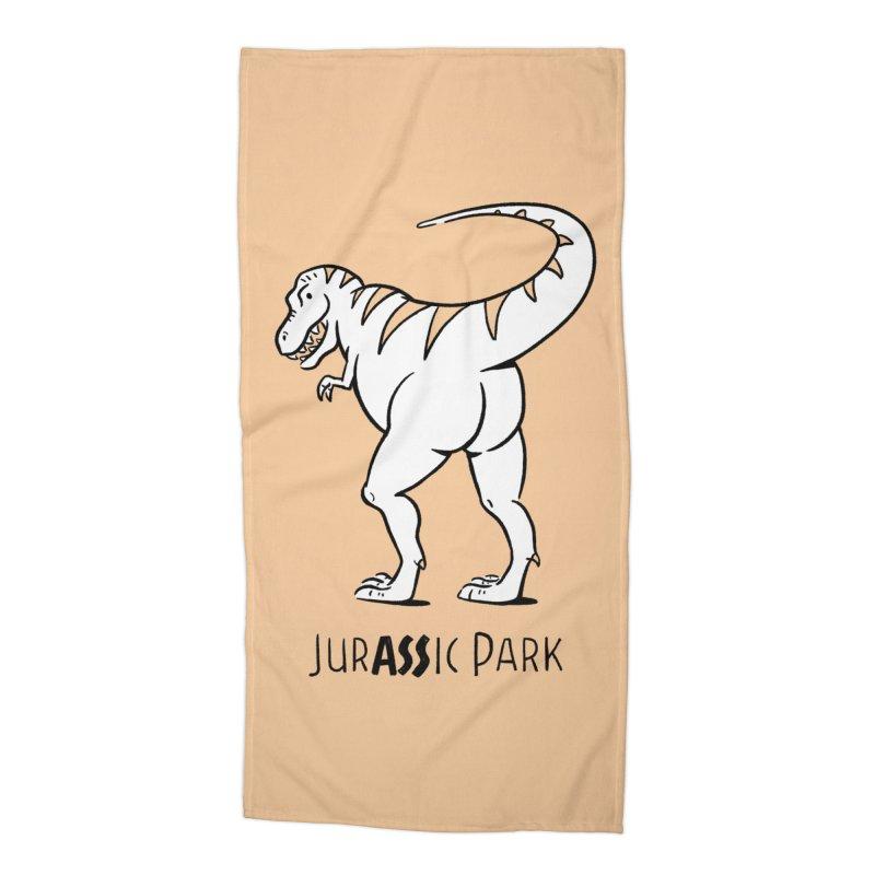 JurASSic Park Accessories Beach Towel by Jake Giddens' Shop