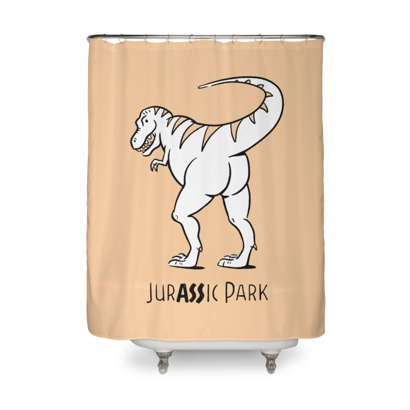 JurASSic Park Home Shower Curtain by Jake Giddens' Shop