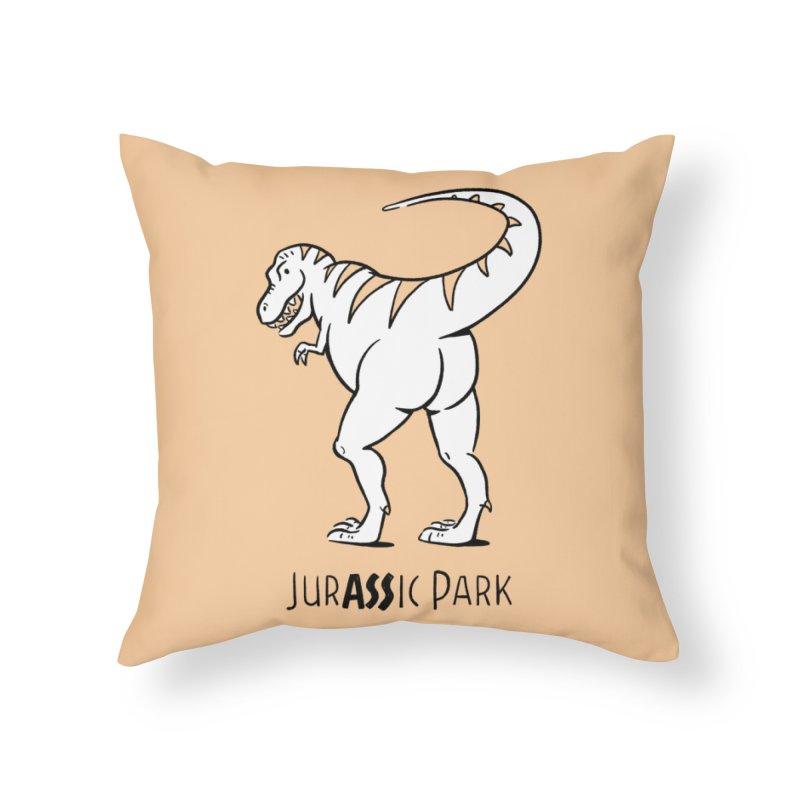 JurASSic Park Home Throw Pillow by Jake Giddens' Shop