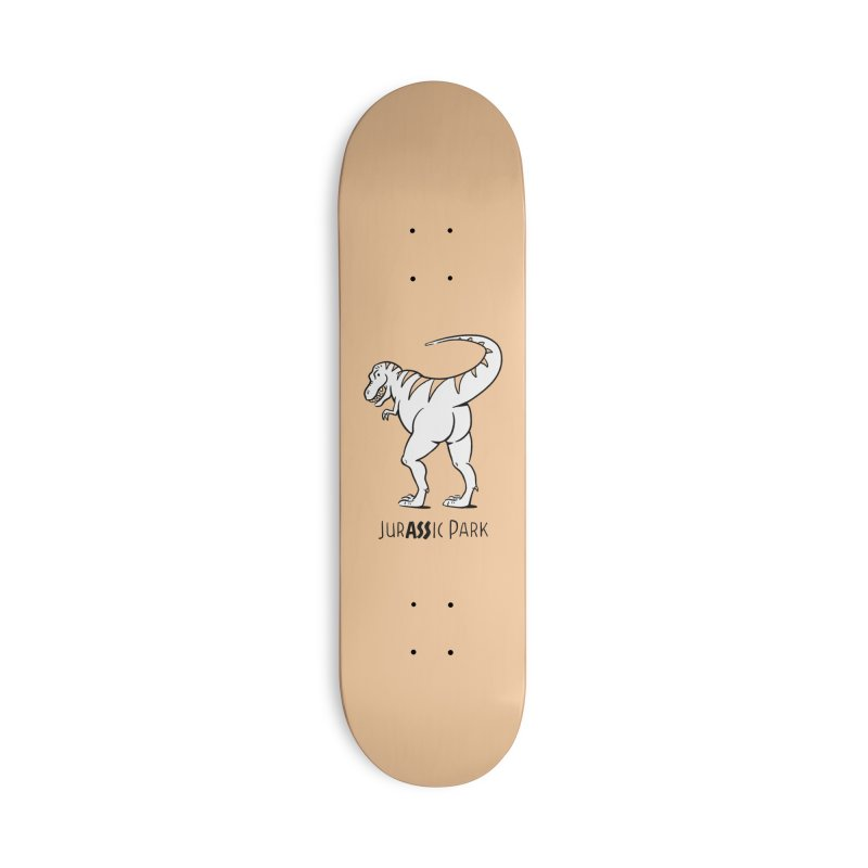 JurASSic Park Accessories Deck Only Skateboard by Jake Giddens' Shop
