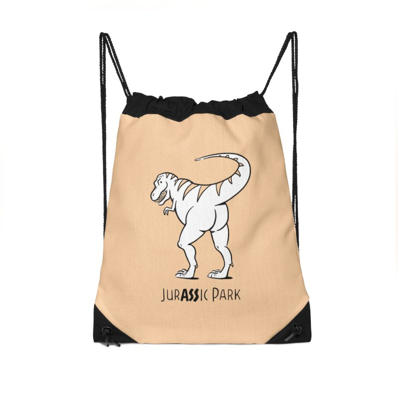 JurASSic Park Accessories Drawstring Bag Bag by Jake Giddens' Shop