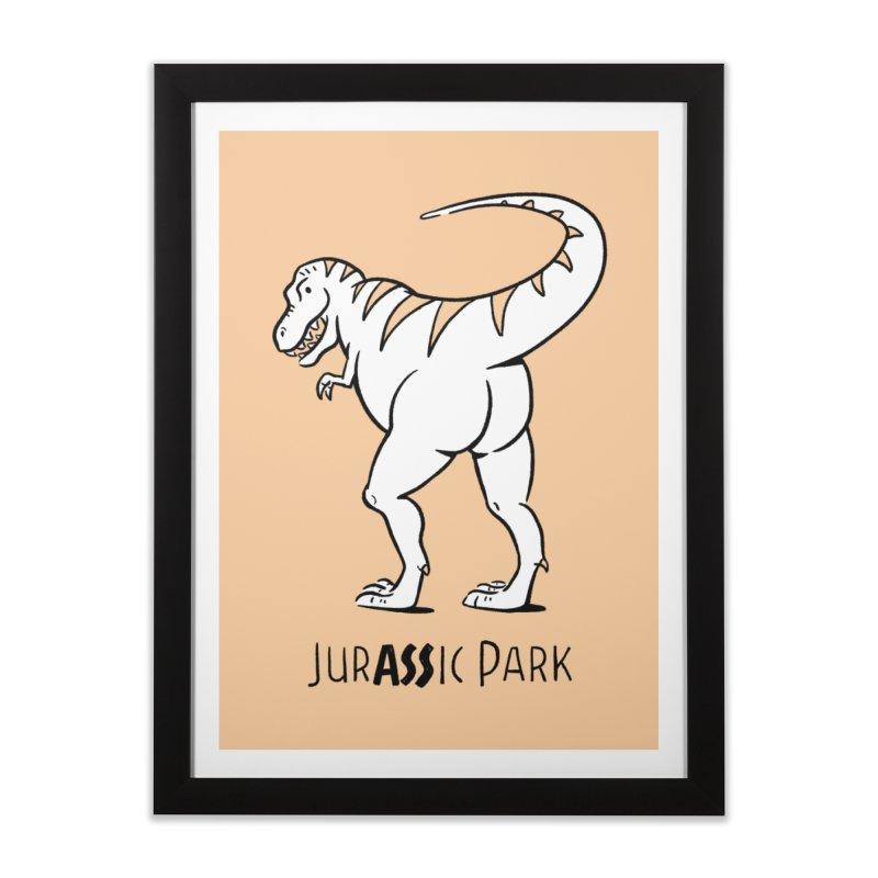 JurASSic Park Home Framed Fine Art Print by Jake Giddens' Shop
