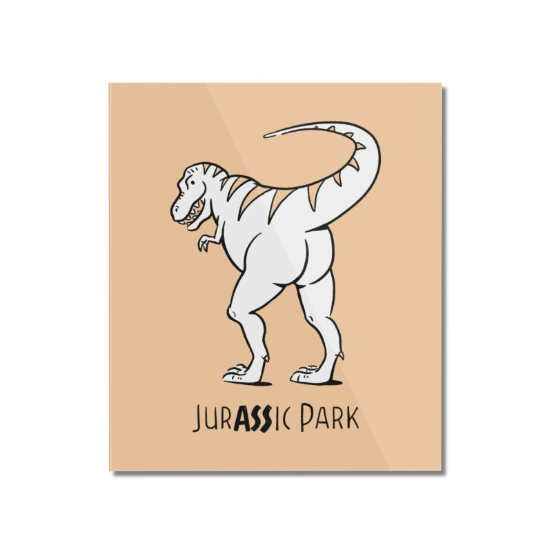 JurASSic Park Home Mounted Acrylic Print by Jake Giddens' Shop