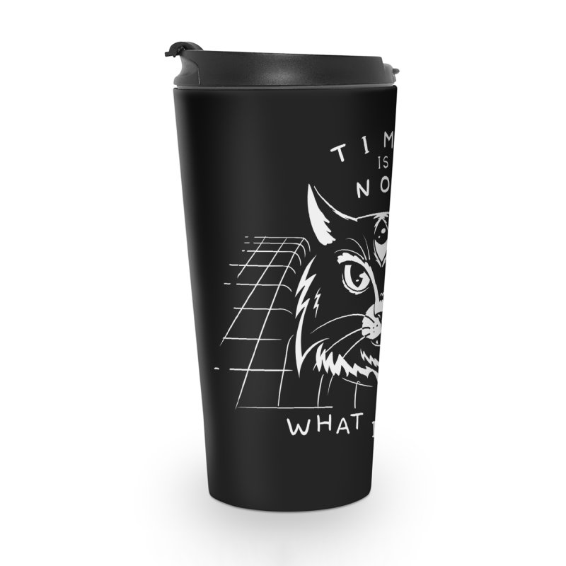 Time Is Not What It Seems Accessories Travel Mug by Jake Giddens' Shop