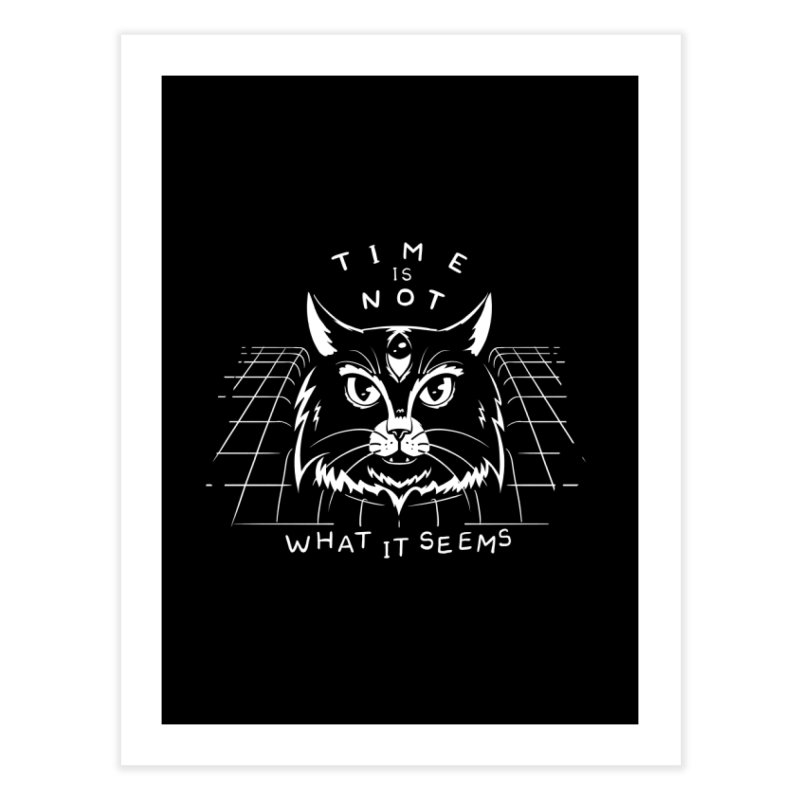 Time Is Not What It Seems Home Fine Art Print by Jake Giddens' Shop