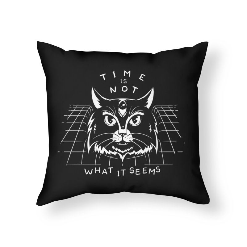 Time Is Not What It Seems Home Throw Pillow by Jake Giddens' Shop