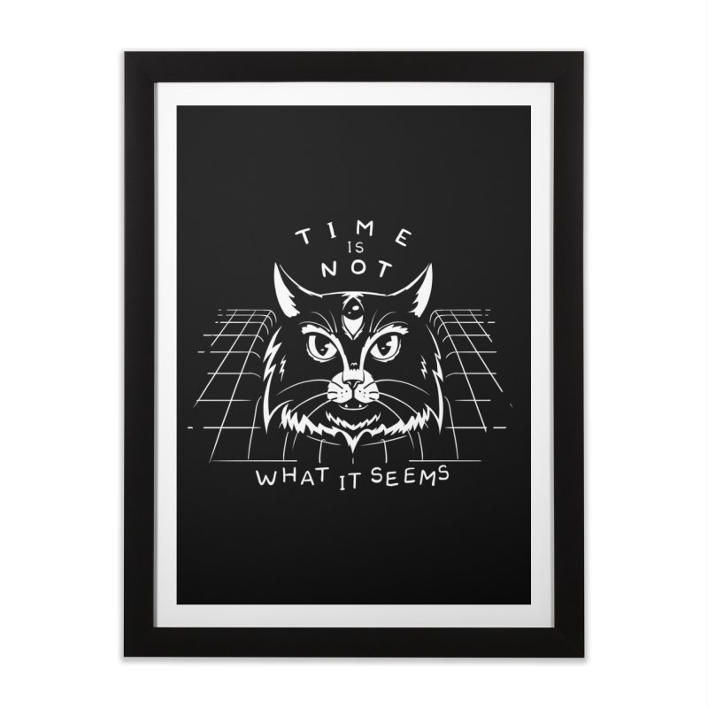 Time Is Not What It Seems Home Framed Fine Art Print by Jake Giddens' Shop