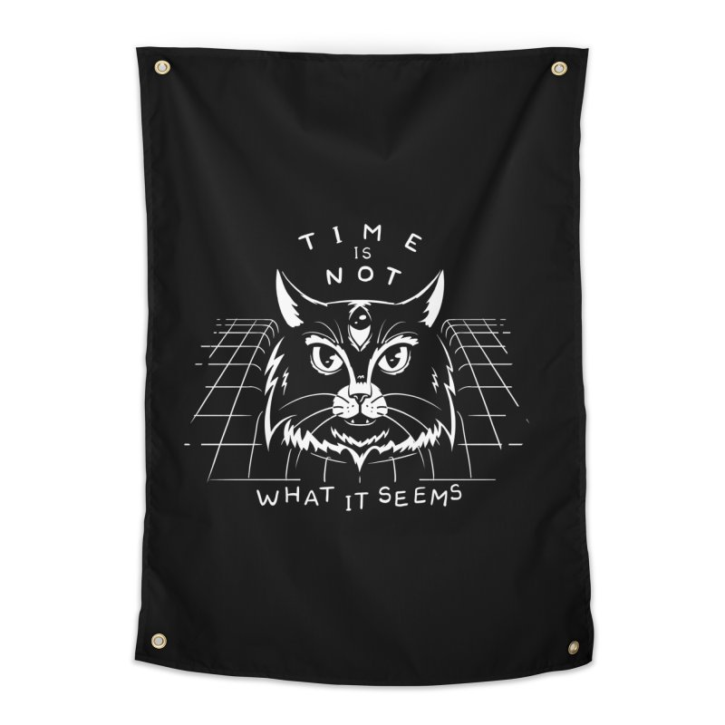 Time Is Not What It Seems Home Tapestry by Jake Giddens' Shop