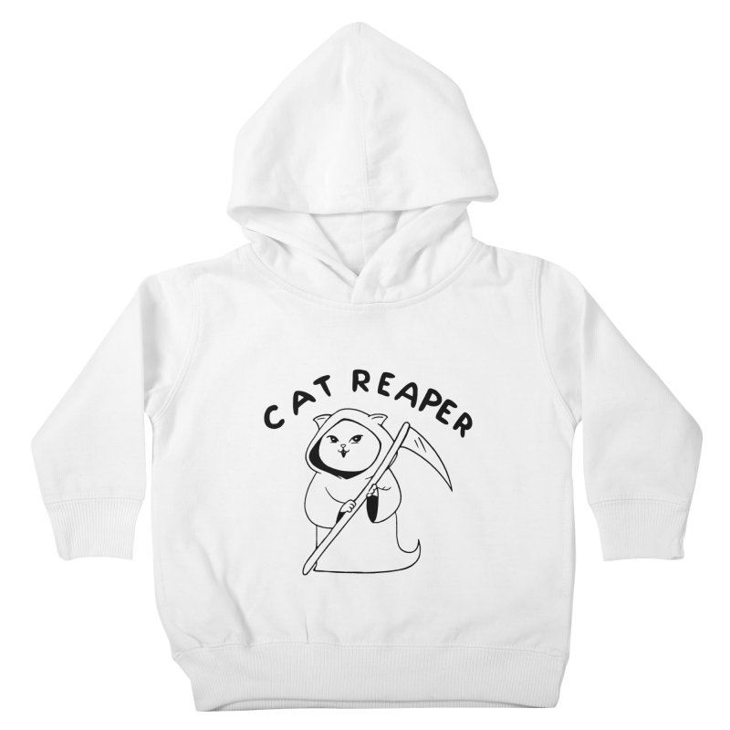 Cat Reaper Kids Toddler Pullover Hoody by Jake Giddens' Shop