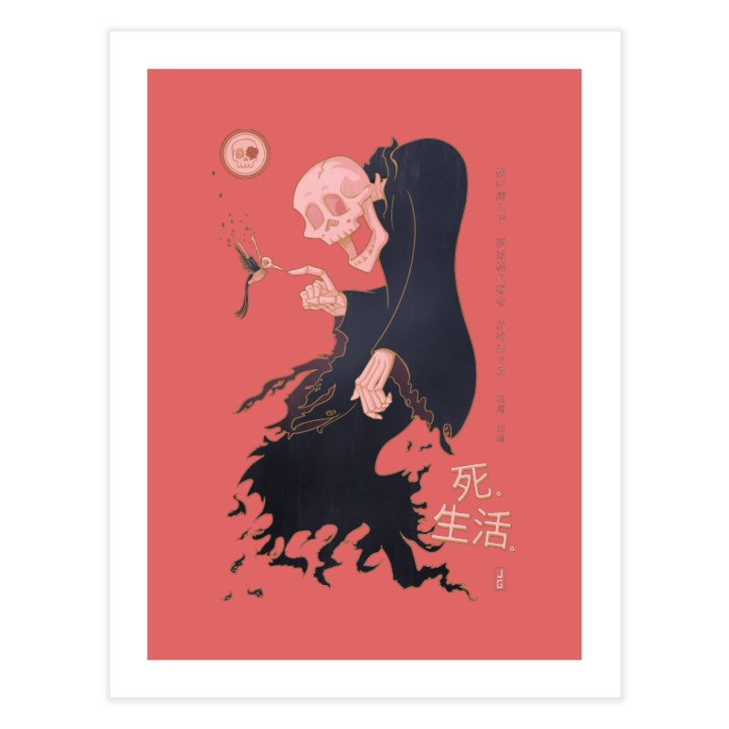Life and Death Home Fine Art Print by Jake Giddens' Shop