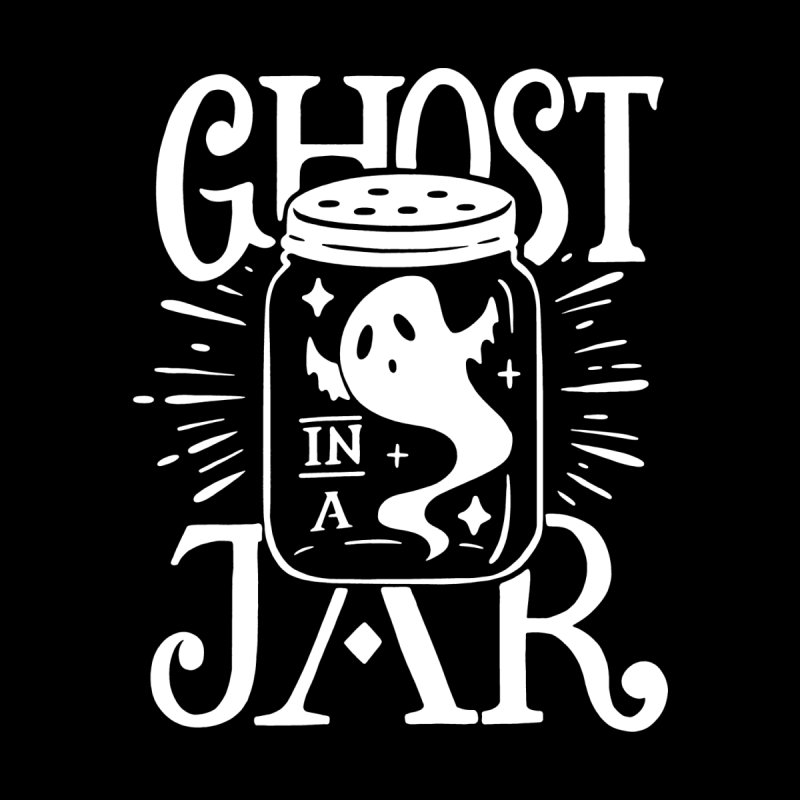 Ghost In A Jar Men's Zip-Up Hoody by Jake Giddens' Shop