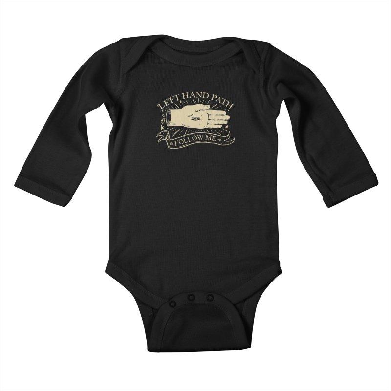 Left Hand Path Kids Baby Longsleeve Bodysuit by Jake Giddens' Shop