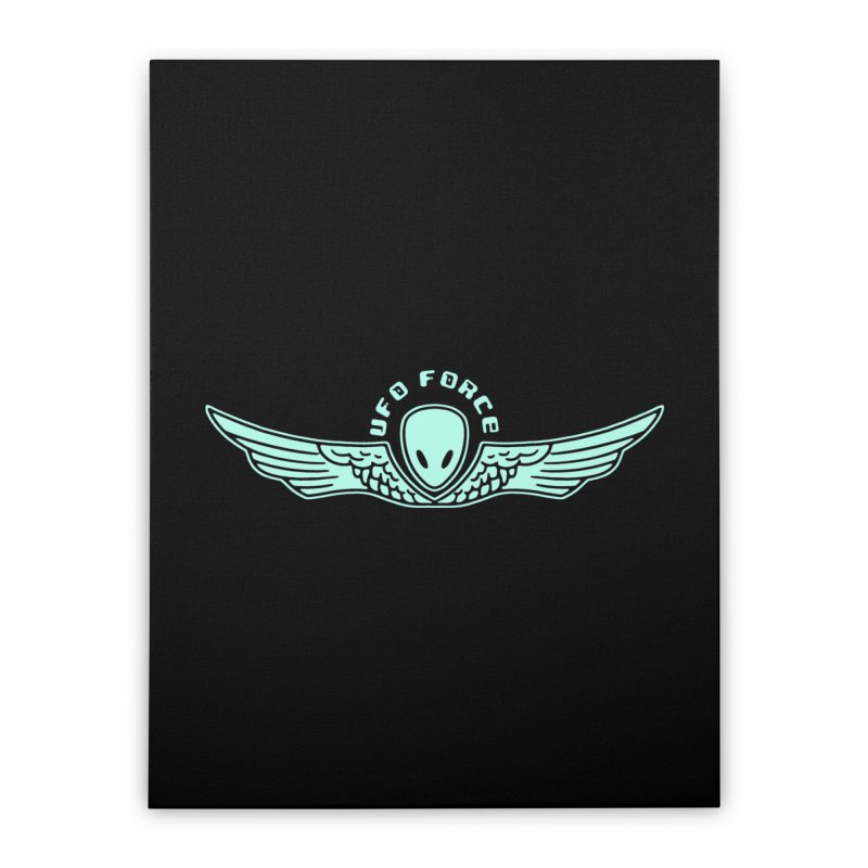 UFO Force Home Stretched Canvas by Jake Giddens' Shop