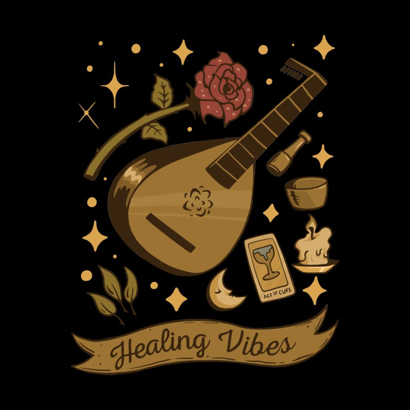 Healing Vibes Women's V-Neck by Jake Giddens' Shop