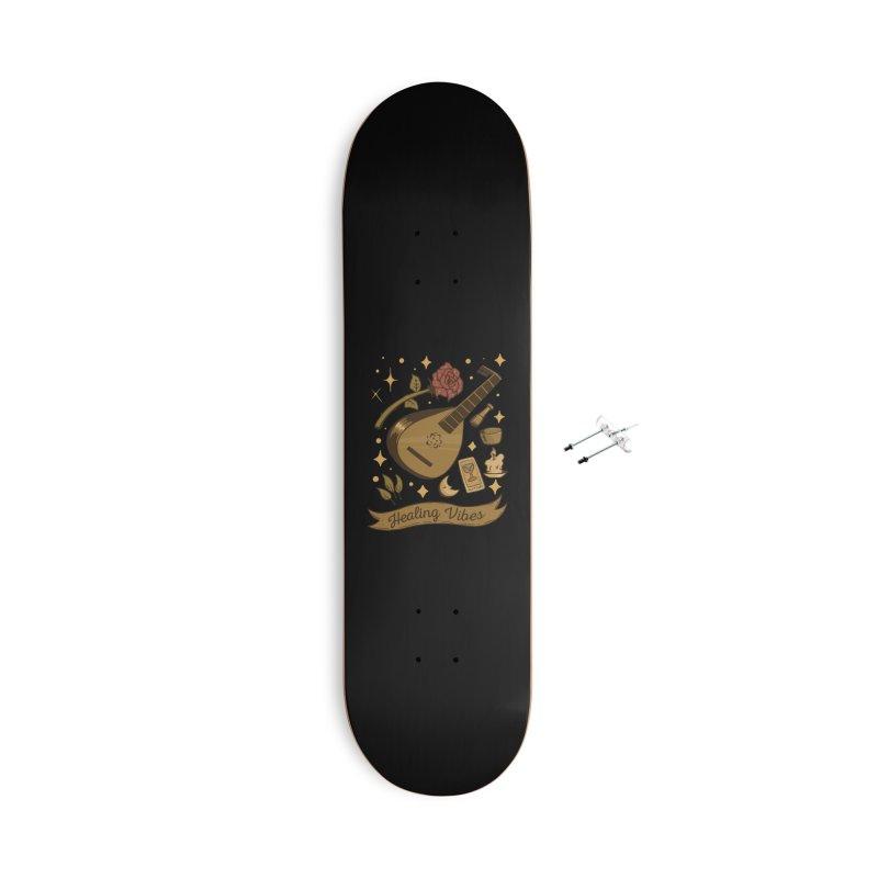 Healing Vibes Accessories Skateboard by Jake Giddens' Shop