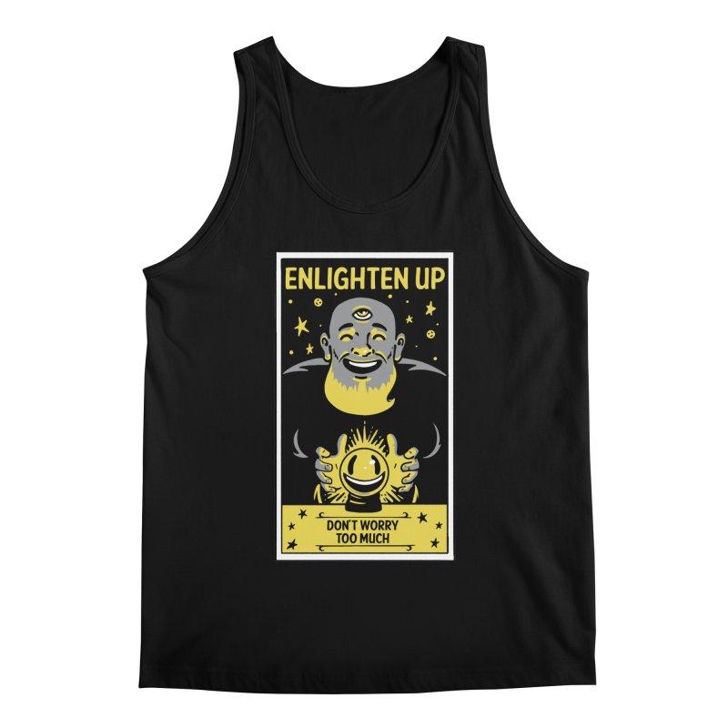 Enlighten Up Men's Tank by Jake Giddens' Shop