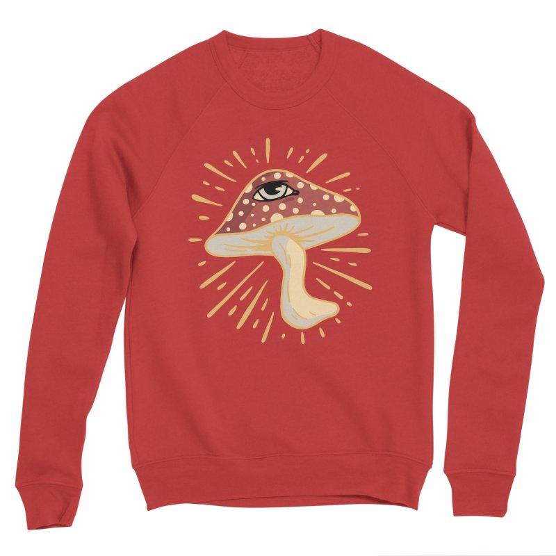 Mushroom Men's Sweatshirt by Jake Giddens' Shop