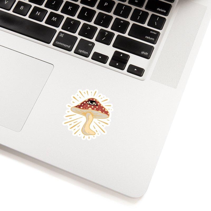 Mushroom Accessories Sticker by Jake Giddens' Shop