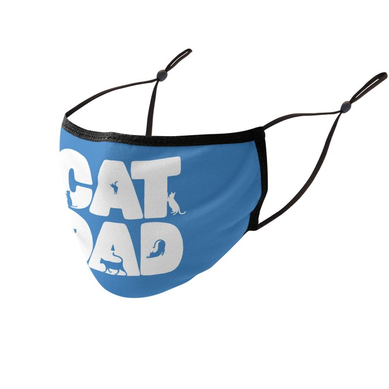 Cat Dad Accessories Face Mask by Jake Giddens' Shop