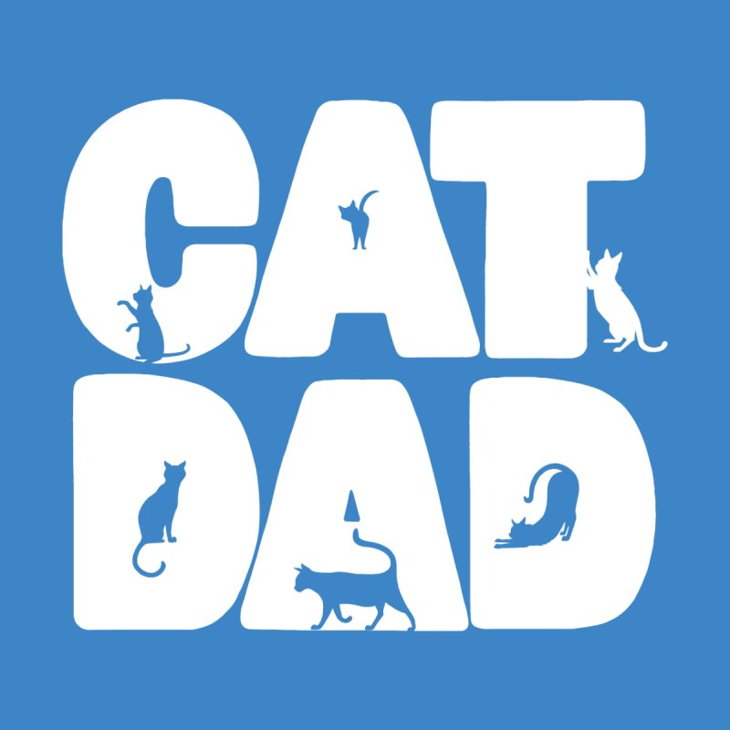 Cat Dad Women's V-Neck by Jake Giddens' Shop