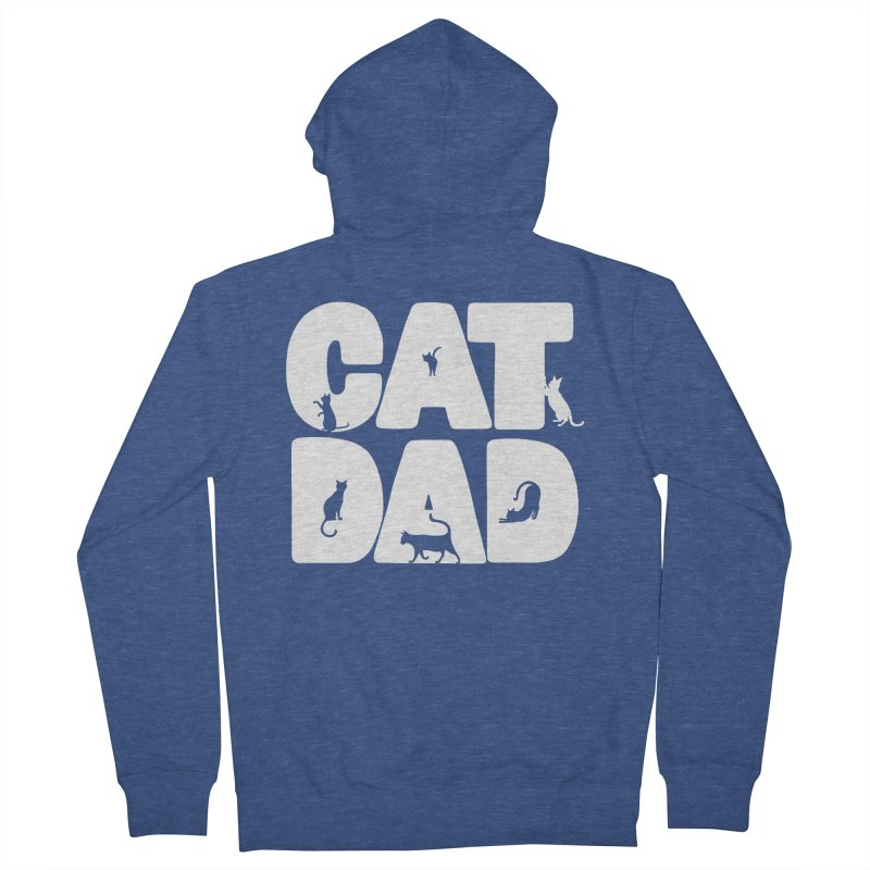Cat Dad Men's Zip-Up Hoody by Jake Giddens' Shop