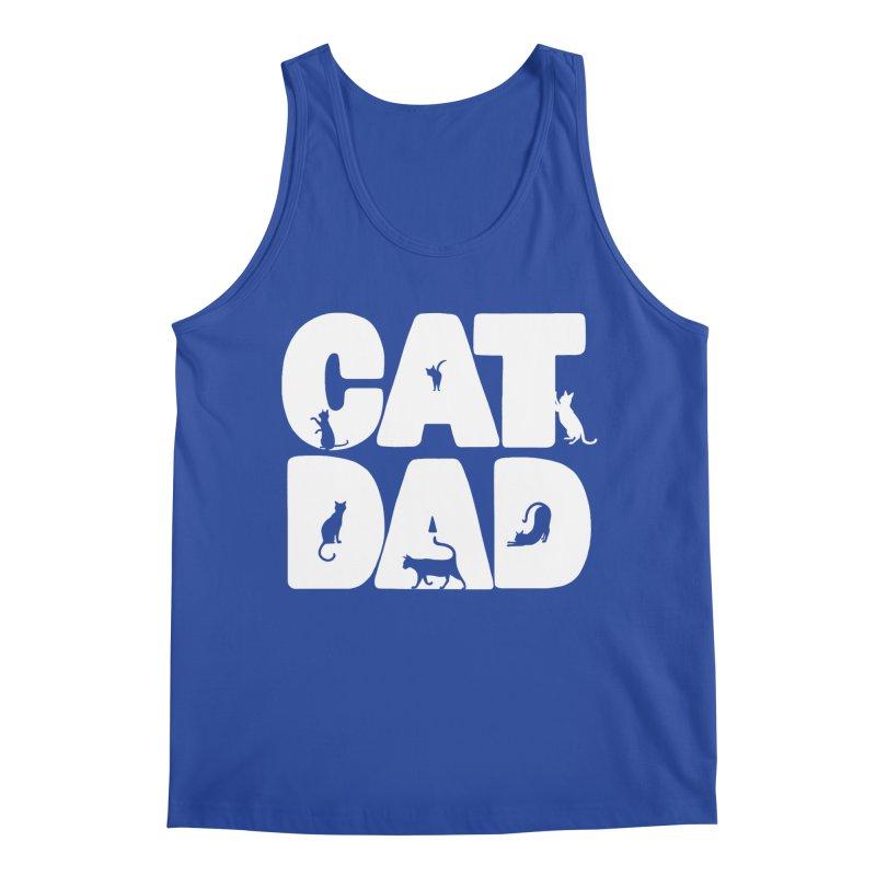 Cat Dad Men's Tank by Jake Giddens' Shop