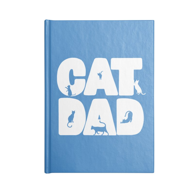 Cat Dad Accessories Notebook by Jake Giddens' Shop