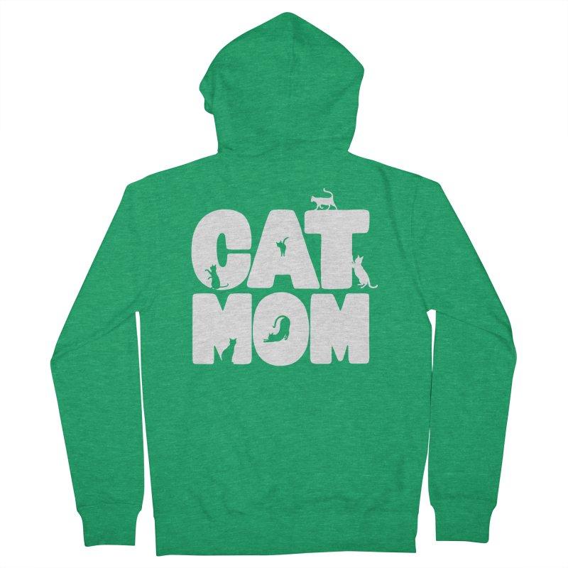 Cat Mom Men's Zip-Up Hoody by Jake Giddens' Shop