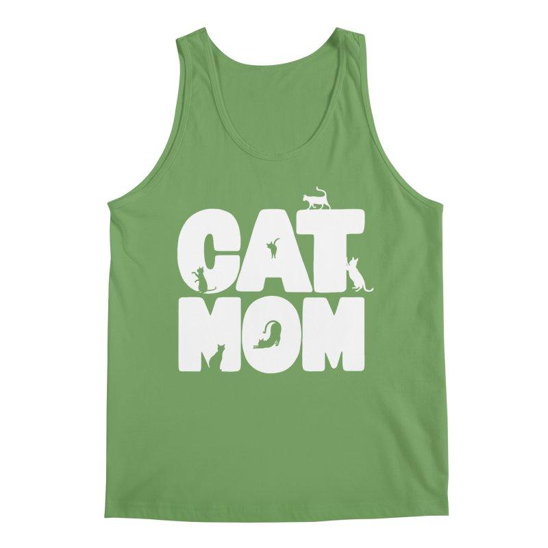Cat Mom Men's Tank by Jake Giddens' Shop