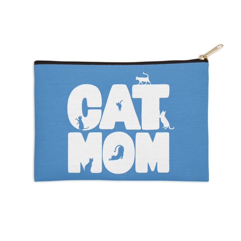 Cat Mom Accessories Zip Pouch by Jake Giddens' Shop
