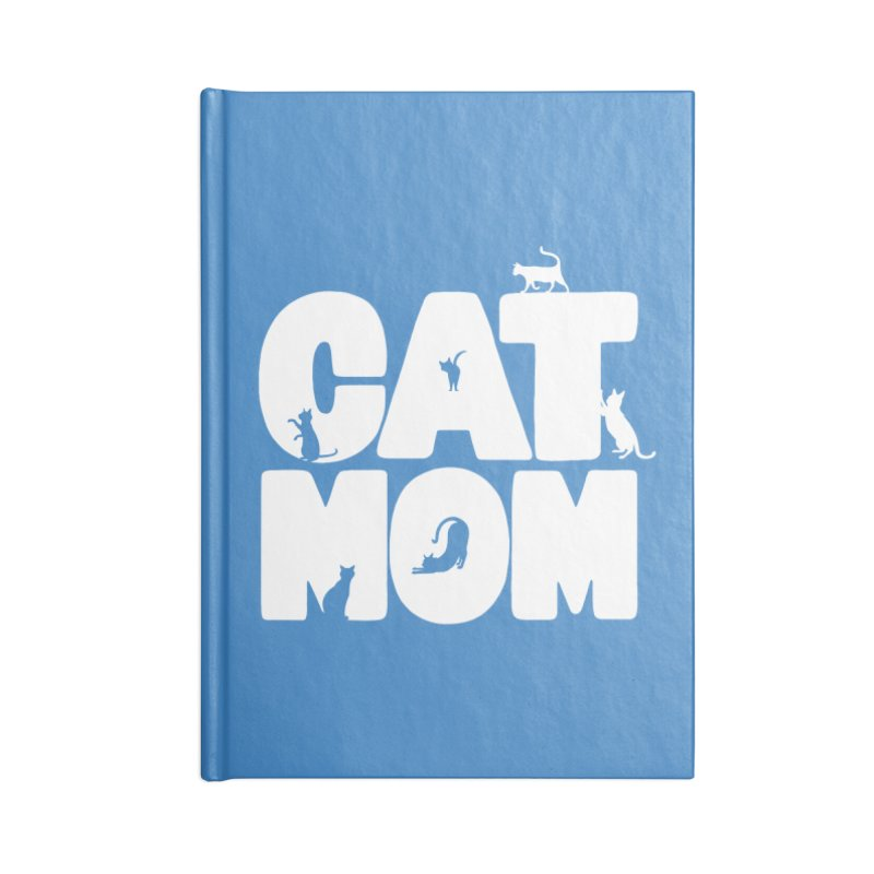Cat Mom Accessories Notebook by Jake Giddens' Shop