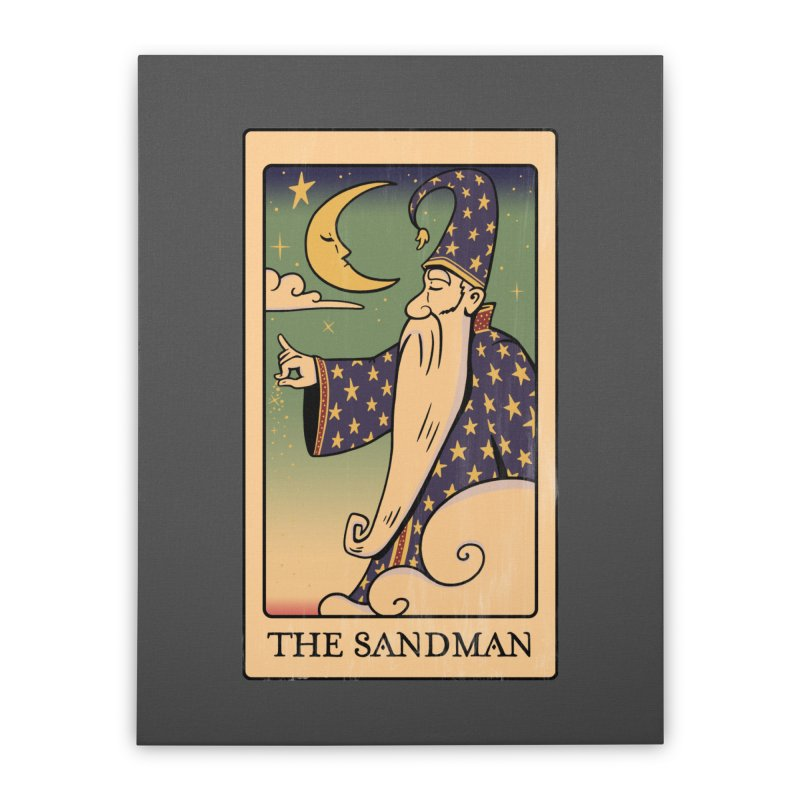 The Sandman Tarot Home Stretched Canvas by Jake Giddens' Shop