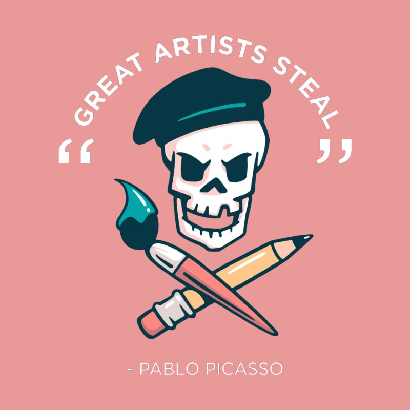 Great Artists Steal Accessories Sticker by Jake Giddens' Shop