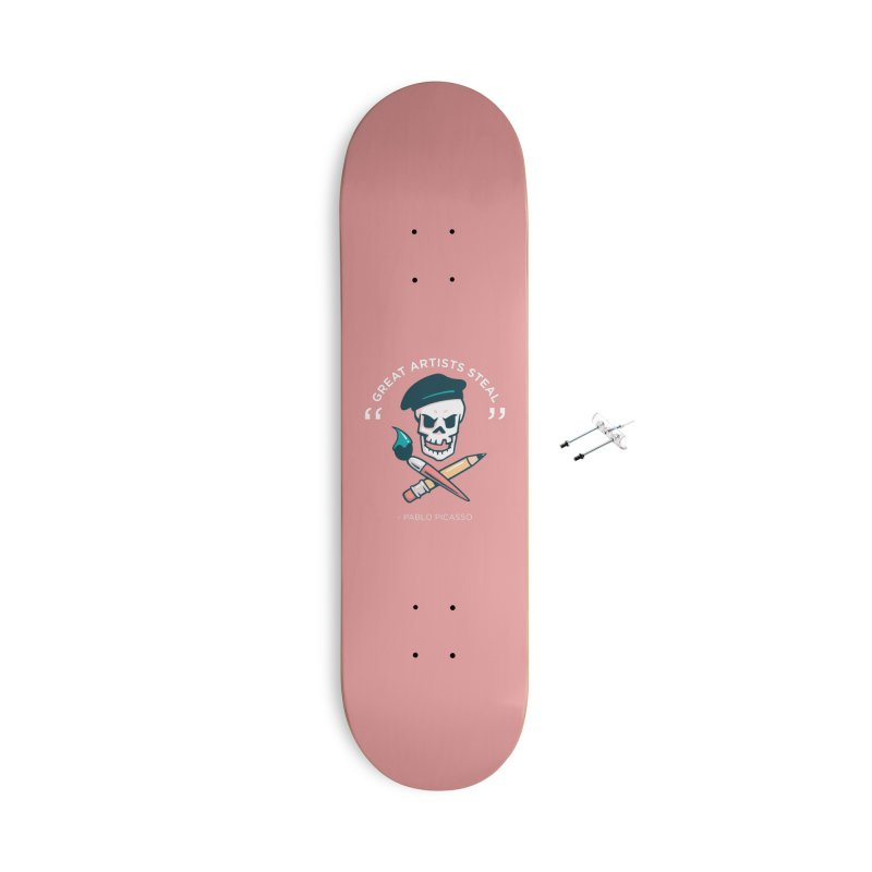 Great Artists Steal Accessories Skateboard by Jake Giddens' Shop
