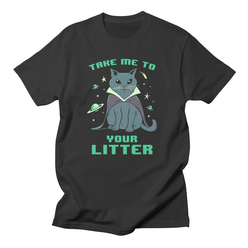 Take Me To Your Litter Men's T-Shirt by Jake Giddens' Shop