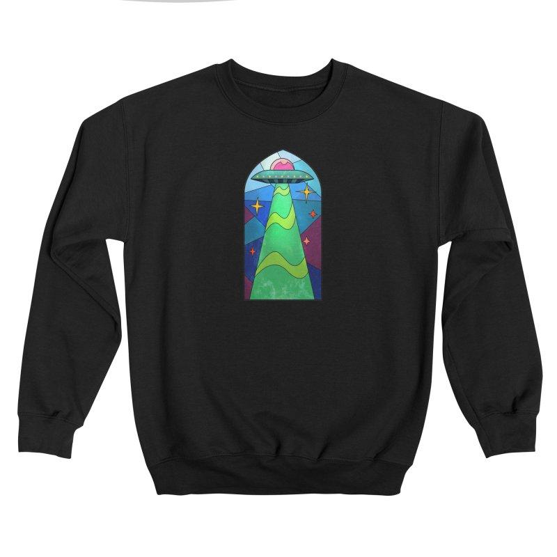 UFO Stained Glass Women's Sweatshirt by Jake Giddens' Shop