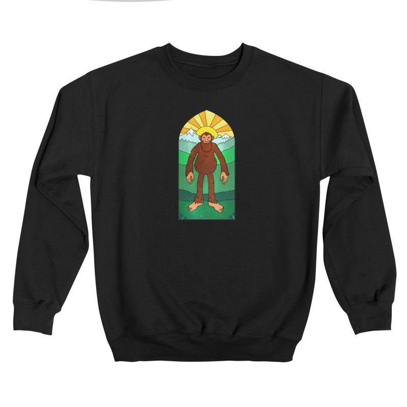 Bigfoot Stained Glass Women's Sweatshirt by Jake Giddens' Shop