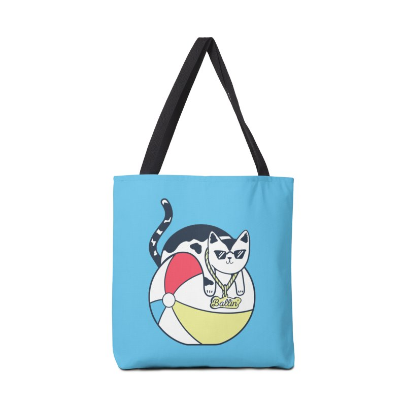 Ballin' Accessories Tote Bag Bag by Jake Giddens' Shop