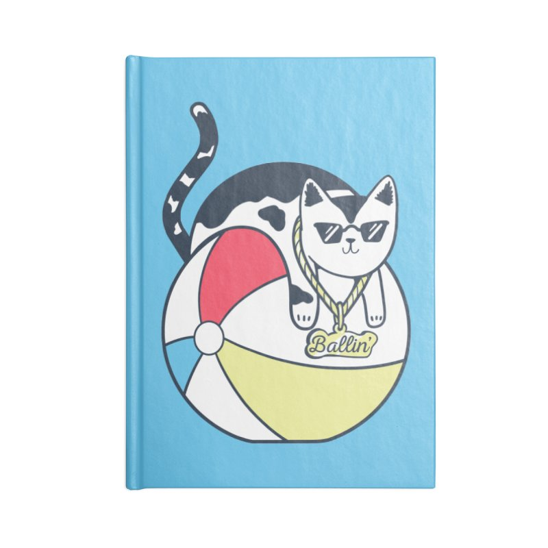 Ballin' Accessories Lined Journal Notebook by Jake Giddens' Shop