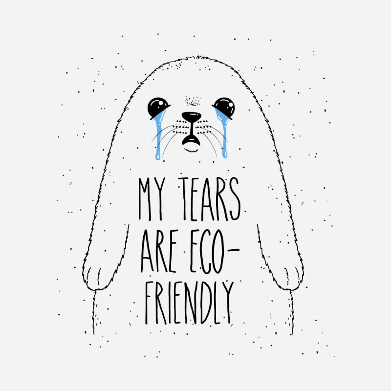 Eco-Friendly Tears Men's T-Shirt by Jake Giddens' Shop