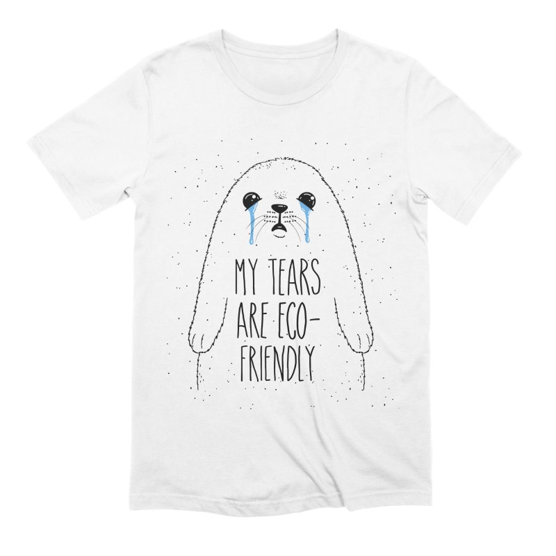 Eco-Friendly Tears Men's Extra Soft T-Shirt by Jake Giddens' Shop