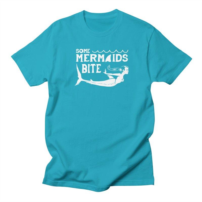 Some Mermaids Bite Men's T-Shirt by Jake Giddens' Shop