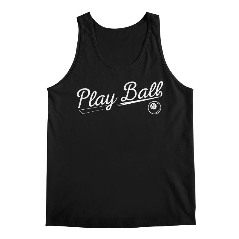 Play (8) Ball Men's Regular Tank by Jake Giddens' Shop