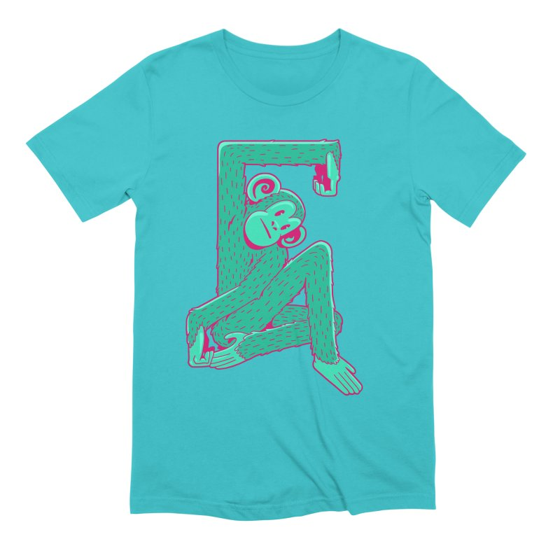 Boxed Up Monkey Men's Extra Soft T-Shirt by Jake Giddens' Shop