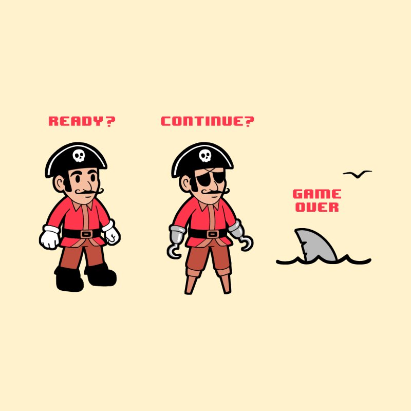 Pirate Gamer by Jake Giddens' Shop