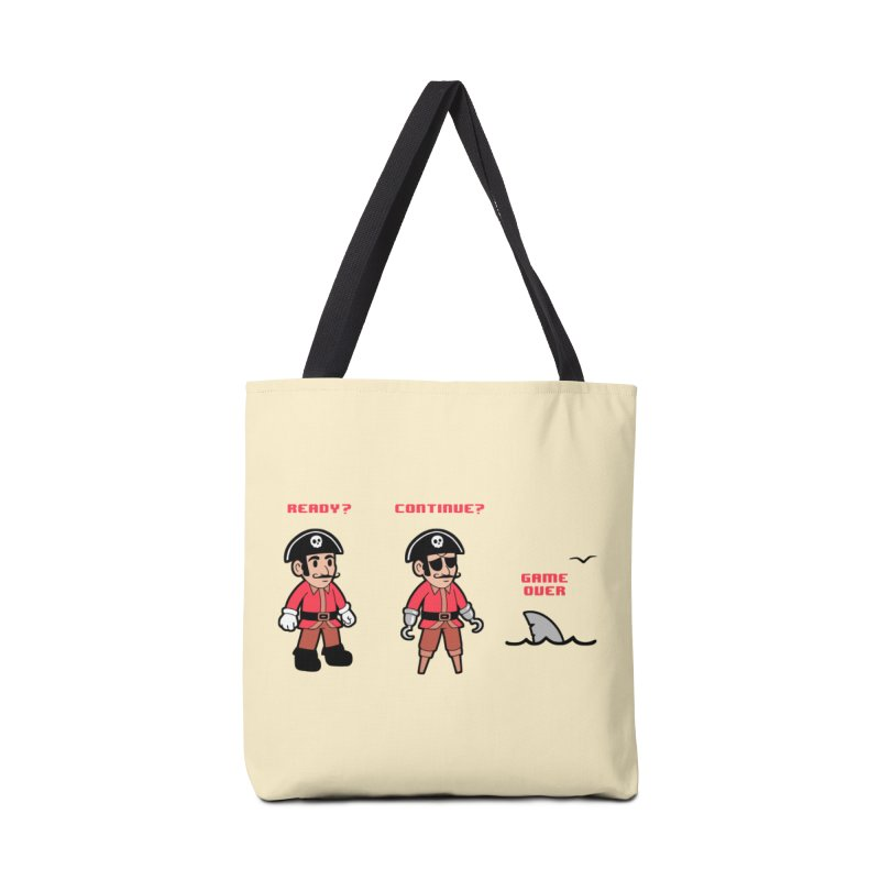 Pirate Gamer Accessories Tote Bag Bag by Jake Giddens' Shop