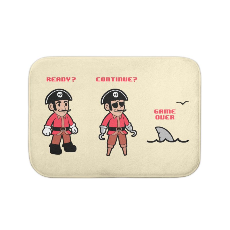 Pirate Gamer Home Bath Mat by Jake Giddens' Shop