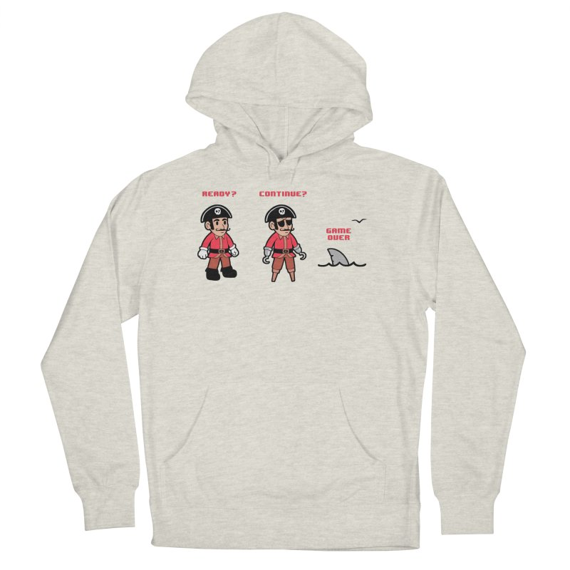 Pirate Gamer Women's French Terry Pullover Hoody by Jake Giddens' Shop