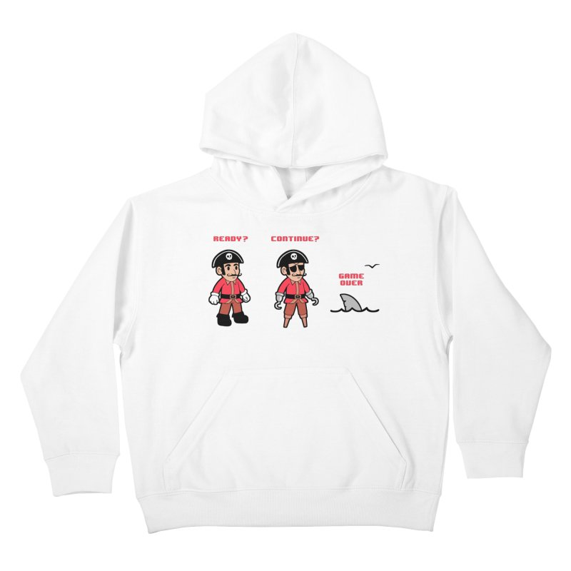 Pirate Gamer Kids Pullover Hoody by Jake Giddens' Shop