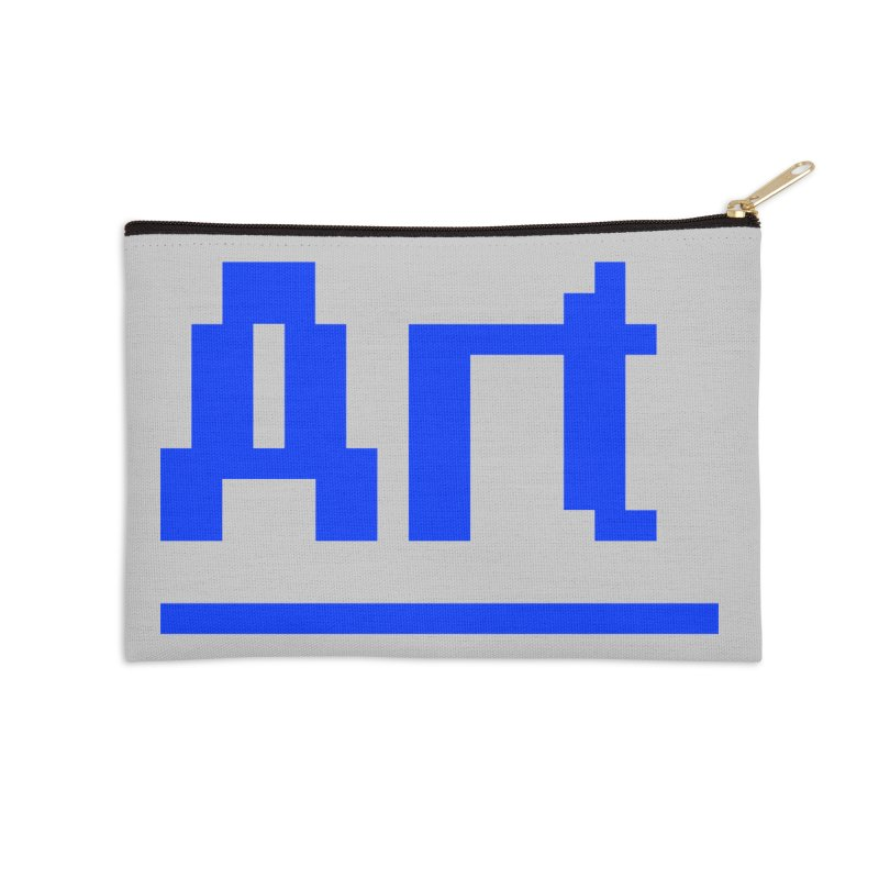 Art Accessories Zip Pouch by Make with Jake Nickell, The Coolest Dude on Earth!